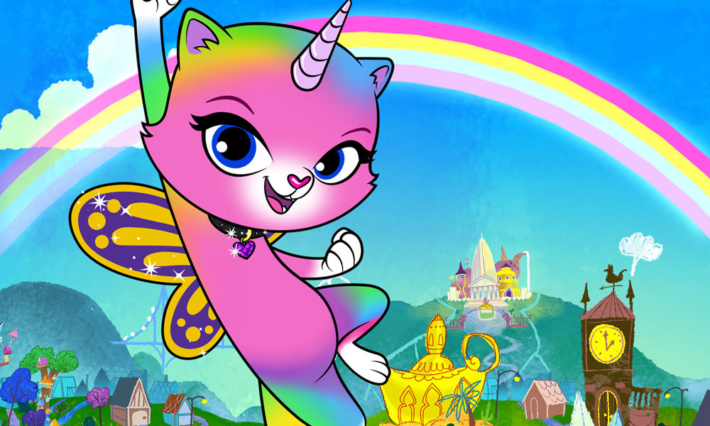 Rainbow Butterfly Unicorn Kitty Featured In Kidscreen
